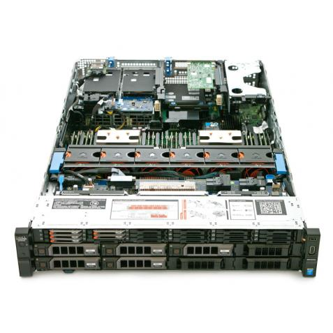 "Máy chủ Dell PowerEdge R730XD E5-2620v3x2 - Ram 32G - Raid H730 - PS 750w - 3.5""x8 + 1.8""x18"