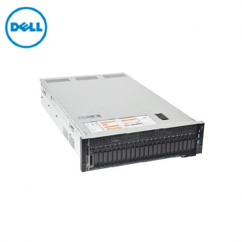 Máy chủ Dell PowerEdge R940 2 x Xeon Gold 5117 - Ram 64G - Sas 600G x 2 - Raid H740 12Gbps