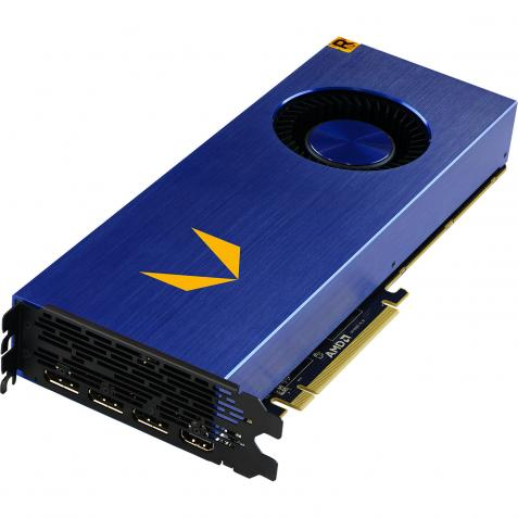 AMD Radeon Vega Frontier Edition - 16GB - 2048 bit- Stream Processors 4096